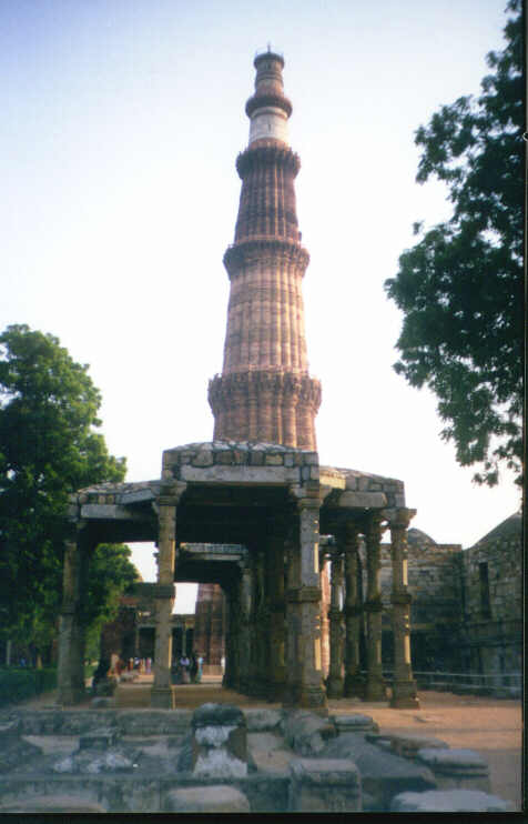 Qutub Minar, Height 235 Feet, New Delhi, Sep 2001
